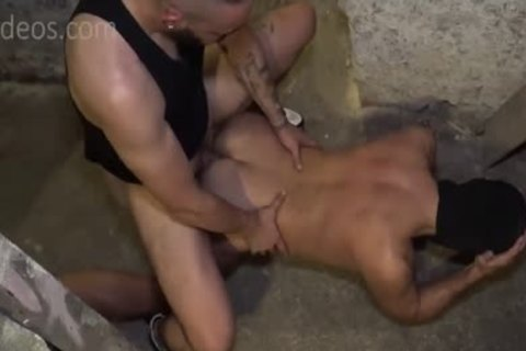 Filled With cum In The Cellar